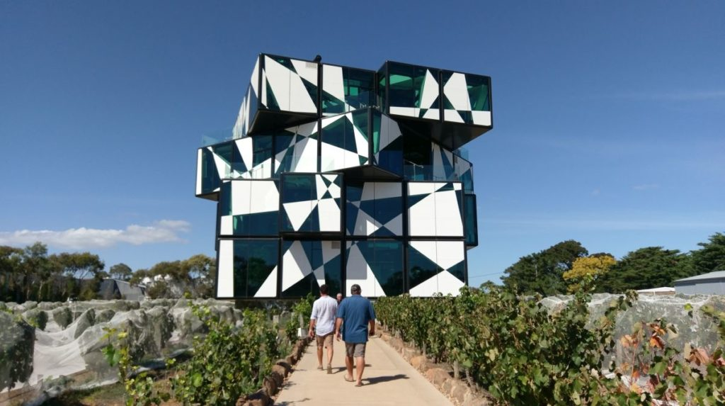 Visit The Cube, Stay at McLaren Vale Lakeside Caravan Park